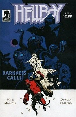 "Comic Dark Horse ""Hellboy: Darkness Calls #2"" 2007 NM"