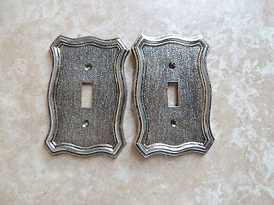 Vintage 2 Light Switch Plate Cover Single Toggle 1968 American Tack &Howe Co NEW