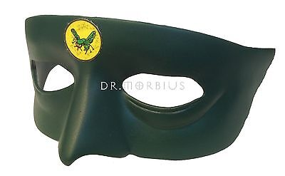 1966 The Green Hornet Costume Mask Overcoat And Hat Prop Replica Free Delivery!