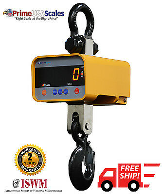 Crane Scale 10,000 lb Digital Hanging Scale with Wireless Remote
