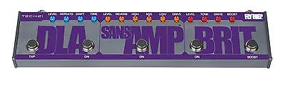 Tech 21 British Fly Rig 5 SansAmp Character Electric Guitar Multi-effects pedal