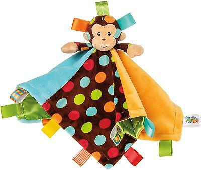 Taggies DAZZLE DOTS MONKEY CHARACTER BLANKET Comforter Sleep Baby/Child BN