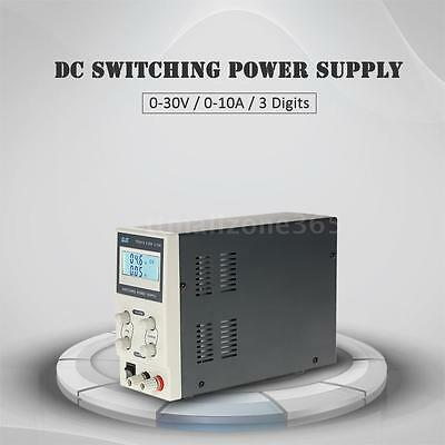 New 30V 10A Adjustable Variable Digital Regulated DC Switching Power Supply F7Q5