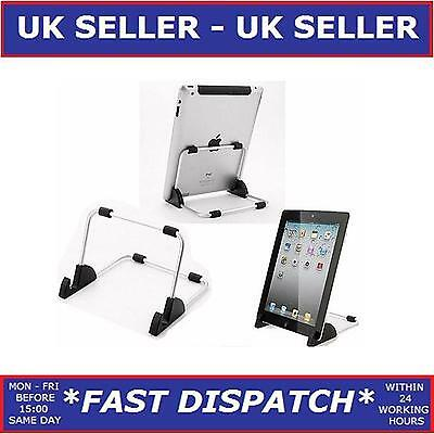 UNIVERSAL PORTABLE DESKTOP TABLET STAND HOLDER FOR iPAD 2 / 3 / 4 / AIR/ KINDLE.