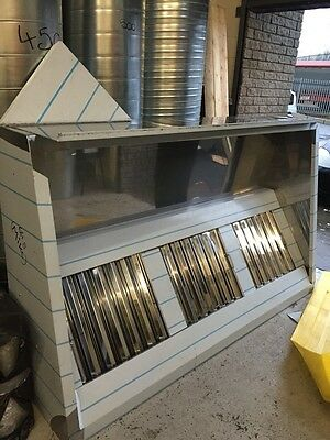 Stainless Steel Kitchen Canopy Extraction Fan