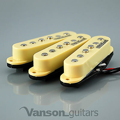 NEW Set of Wilkinson Vintage 60's Single Coil Pickups for Strat®* IVORY MWVS