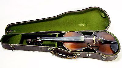 Antique American Era Violin w/ Case ~ Owned by Concertmaster Jacques Gordon (?)