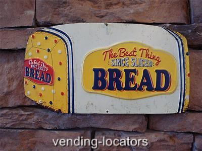 Bread Metal Sign General Store Store Ad Rack Display 1950's Vintage Retro New