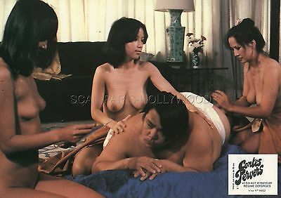 Sexy Girls Contes Pervers 1980 Vintage Lobby Card #2