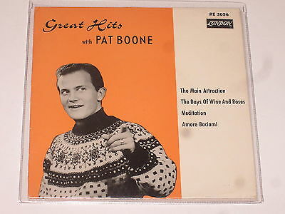 EP – PAT  BOONE  - Great Hits