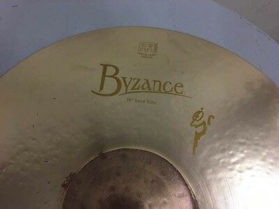 """Meinl Byzance 20"""" 20 in Benny Greb Signature Sand Ride Cymbal. Model: B20SAR"""