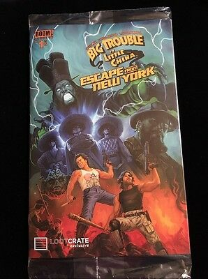 Loot Crate Exclusive Big Trouble Little China Escape From New York Boom Comic #1
