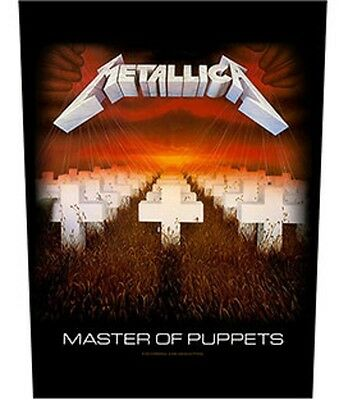 Metallica BACK PATCH New Official Master of puppets