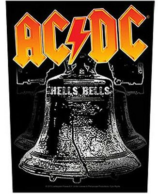 AC/DC BACK PATCH New Official HELLS BELLS