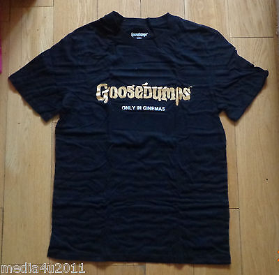 Goosebumps  Film/movie Promo T Shirt Small New Boxed