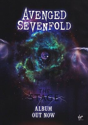 AVENGED SEVENFOLD The Stage PHOTO Print POSTER 2016/2017 Tour A7X CD Shirt 020