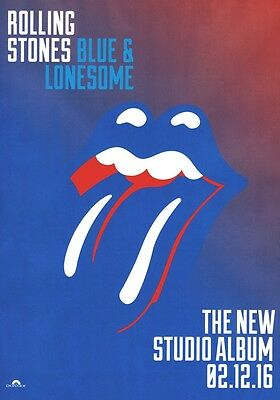 ROLLING STONES Blue & Lonesome PHOTO Print POSTER Keith Richards Tour Mick 016
