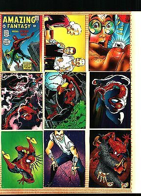 1992 Marvel 30th Anniversary Spider Man II Amazing Fantasy Complete 90 Card Set