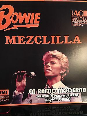 """David Bowie - Blue Jean 12"""" Ep Mexican Promo"""