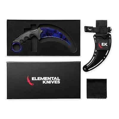 Elemental Knives Black Pearl Real CSGO Knife Skin Counter Strike CS GO