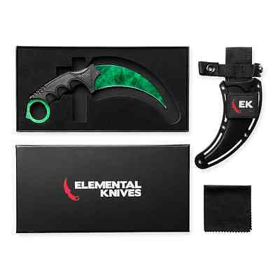 Elemental Knives Emerald Real CSGO Knife Skin Counter Strike CS GO