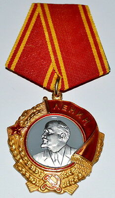 "Soviet Russian Order  Medal ""order Of Lenin"". Copy"