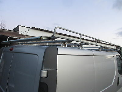 2009 Vauxhall Vivaro Renault Trafic Roof Rack With Rear Roller