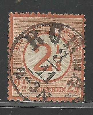Germany Stamps Scott #27 from Quality Old Album 1874