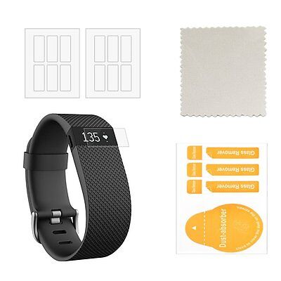 Fitbit Charge HR Screen Protector (12-Pack) - CIKIShield Premium Clear