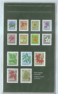 Canada 1977 Wildflowers and Trees of Canada MNH Presentation Pack w7839