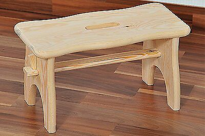 Kesper Step Stool, Pine, Brown