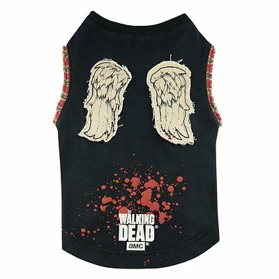 The Walking Dead - Hunde T-Shirt - Daryl Dixon Wings (S-XL)