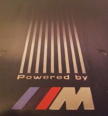 Powered by ///M. BMW CAR Collector's Edition. Very Rare. VGC. FREE UK P&P.