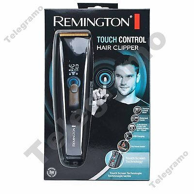 New Remington HC5950 Touch Control Titanium Cord & Cordless Hair Clipper