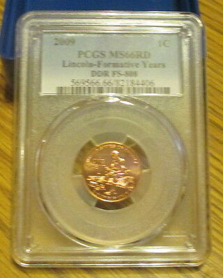 2009  Fy  Lincoln  Cent  Pcgs Ms66Rd   Ddr Fs-808   ~~~ Last  One ~~~