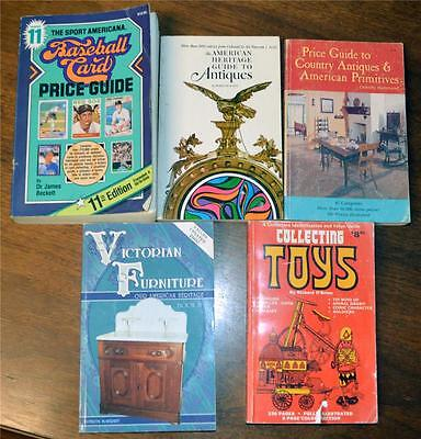 393 Lot of 5 Assorted price guides