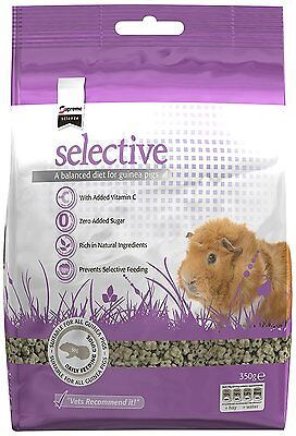 Supreme Petfoods Science Selective for Guinea Pig, 350 g, Pack of 5