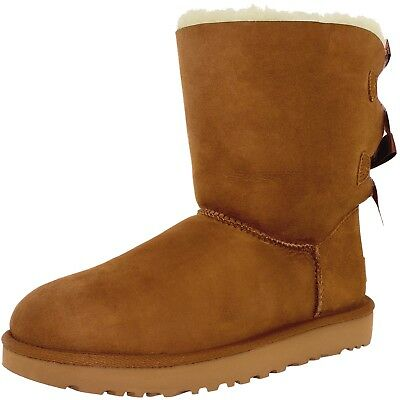 Ugg Women's Bailey Bow II Ankle-High Suede Boot