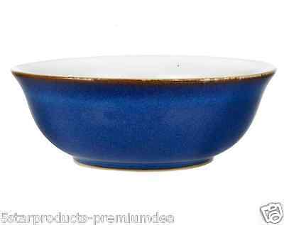 New Denby Imperial Blue Soup Cereal Bowl Modern Ice Cream Tableware Durable Food