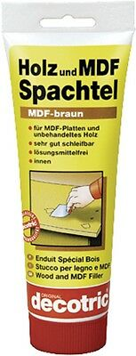 Spackle Wood and MDF 34401001 Solvent free 400 g of decotric