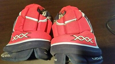 "Bauer XXX 14"" Gloves Used"