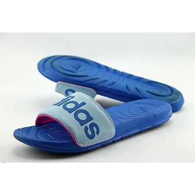 timeless design df3aa 2fe70 Adidas Voloomix Men US 6 Blue Slides Sandal Pre Owned 1900
