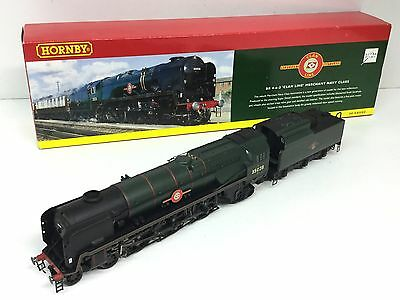 Hornby R2169 BR Merchant Navy 35028 Clan Line BR Green (Details Fitted)
