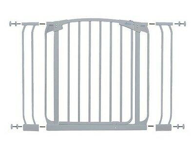 Dreambaby Chelsea Doorway Security Gate & Extension Set (White)