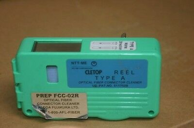 NTT-ME Cletop Type-A Blue Tape Optical Fiber Connector Cleaner 14100500/501
