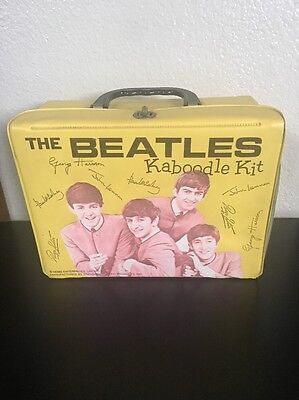 The Beatles Kaboodle Kit Lunchbox Made By Standard Plastic Products