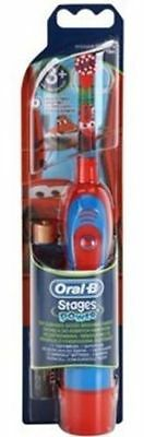 Braun Oral-B Kids Stages Power Battery Toothbrush Disney Cars