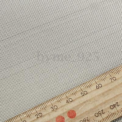 30 Mesh 304 Stainless Steel Cloth Screen Filter Square Sheet Woven Wire 30x30cm