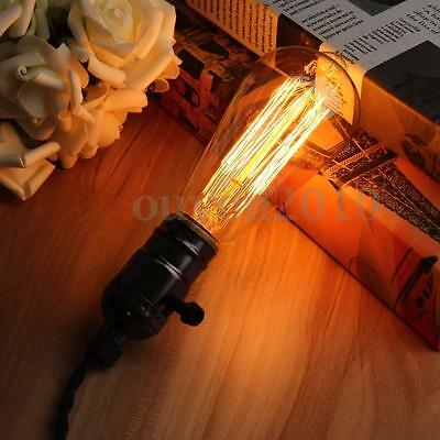 E27 60W Retro Vintage Industrial Style Filament Light Bulb Edison Lamp 110V/220V