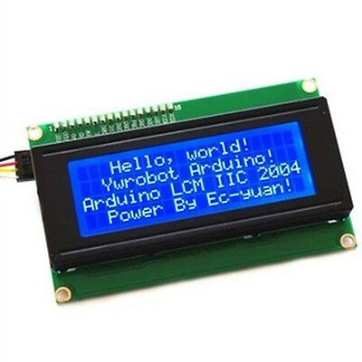 New Blue IIC I2C TWI Serial LCD1602A Module LCD Display For Arduino